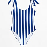 & Other Stories Stripe Swimsuit