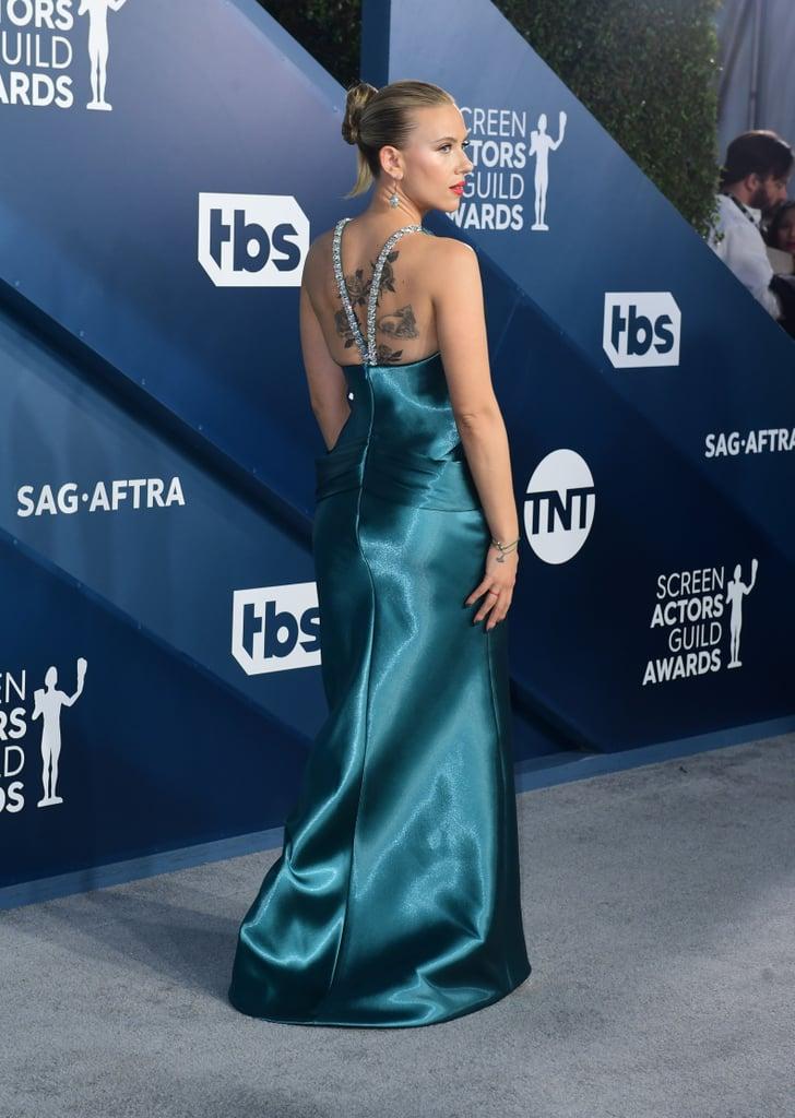 Scarlett Johansson at the 2020 SAG Awards
