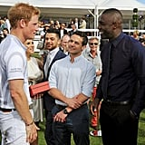 Idris and Prince Harry in One Place? Yes, Please!