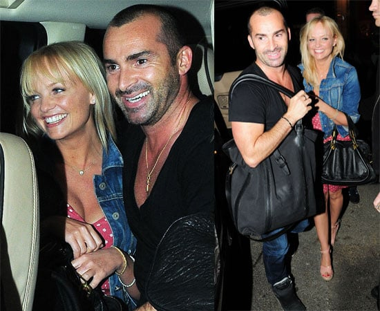 Pictures of Louie Spence and Emma Bunton Leaving The Ivy Club, Emma Will Host Don't Stop Believing, Louie for SYTYCD?