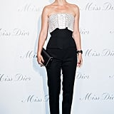 Natalie Portman at the Dior Exhibition in Paris