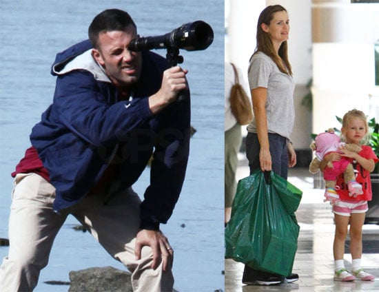 Photos of Ben Affleck on Set
