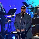 All eyes were on Stevie Wonder, and his magical performance took our breath away.