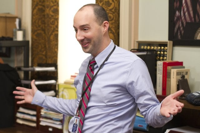 Tony Hale  Veep also made Hale a first-time nominee in the supporting actor in a comedy category (by the way, his Arrested Development co-star Jason Bateman was the only AD cast member to score a nod for the revived season).