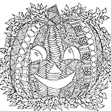 Intricate Pumpkin Printable