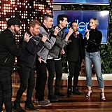 Emily Blunt Sang With the Backstreet Boys