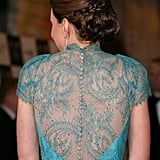 Another glimpse of the intricate back detailing.