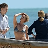 Charlize Theron struck sexy poses throughout her bikini photo shoot in Key West, FL.