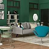 Will and Grace-Inspired Midcentury-Style Living Room