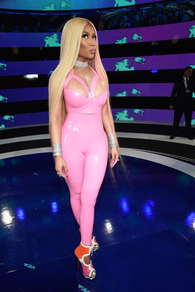Nicki Minaj Hair 2017 Mtv Vmas Popsugar Beauty Australia