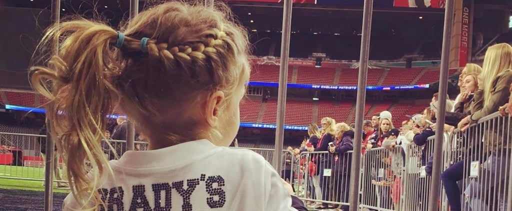 """Tom Brady's """"Little Ladies"""" Gisele Bündchen and Daughter Vivian Are Game-Day Ready"""