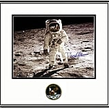 Buzz Aldrin autographed framed moon landing photo ($825)