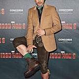 Robert Downey Jr. Wearing Lederhosen