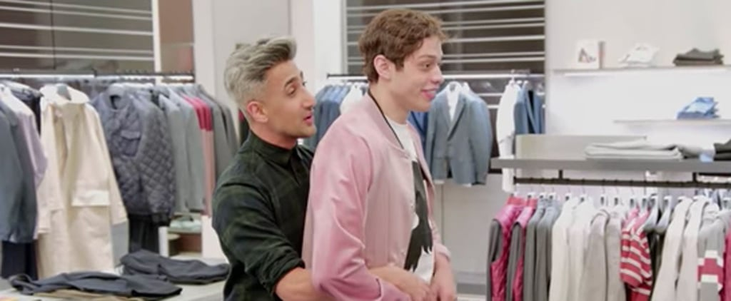 Queer Eye's Tan France Took SNL's Pete Davidson Shopping, and the End Result Is Amazing