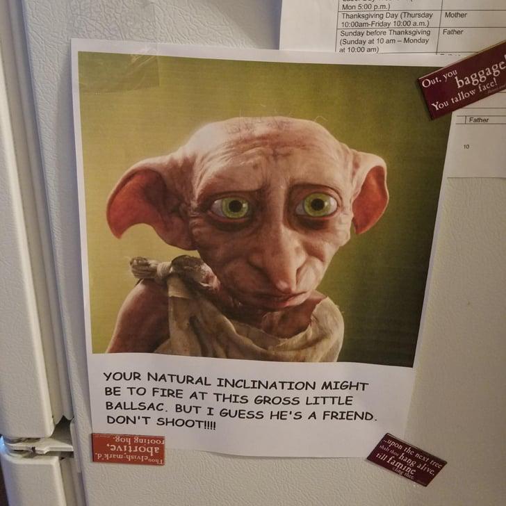 Funny Harry Potter Themed Proposal Popsugar Australia Tech