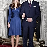 Princes Harry and William Engagement Photocall Pictures