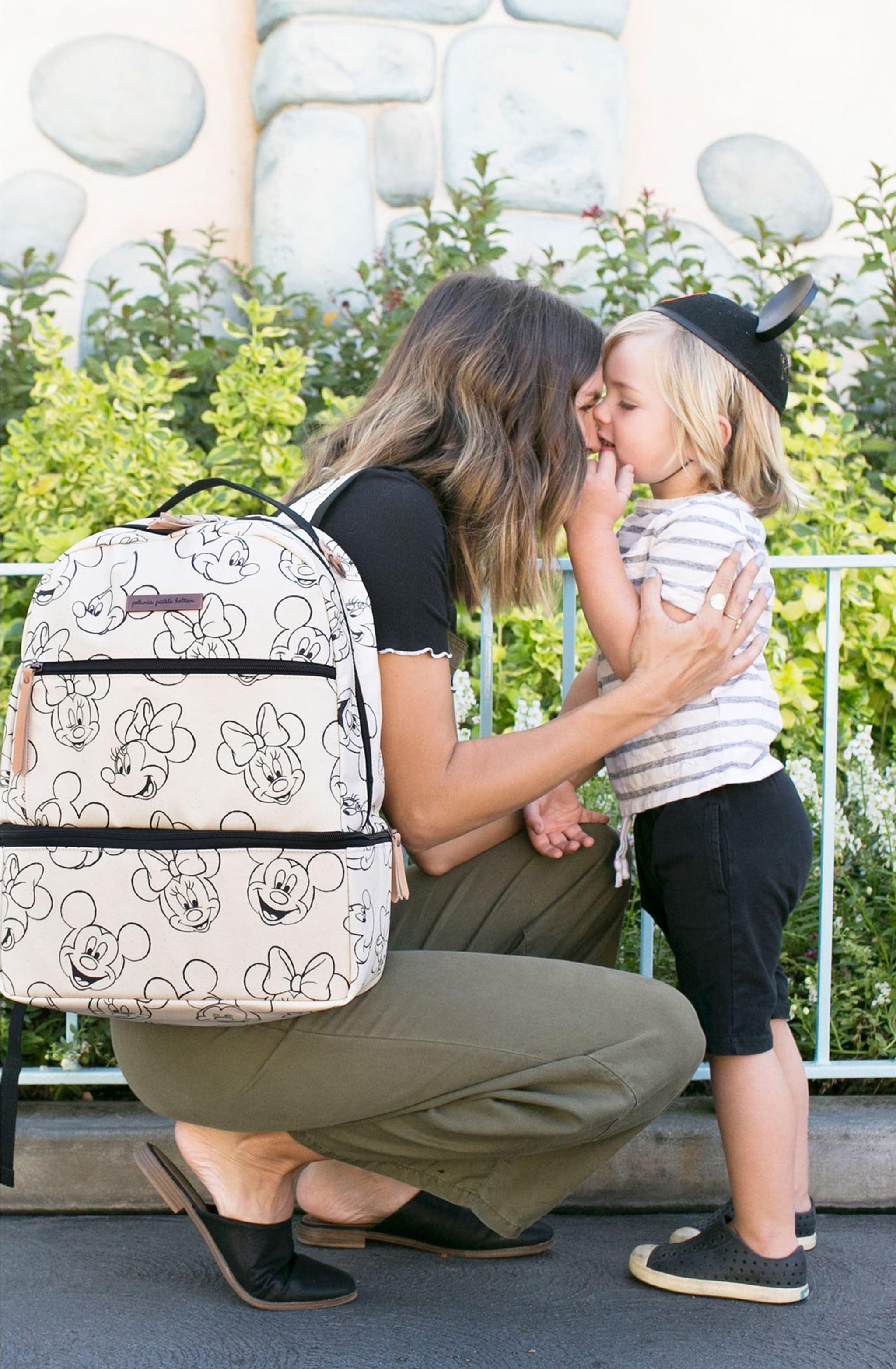 custom mother daughter love tote bag-mom Xmas gift-daughter birthday gift-mothers day gift from daughter-if you miss me,hug this bag