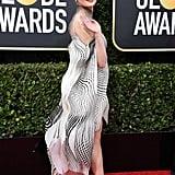 Joey King's Iris van Herpen Golden Globes Dress Is Hypnotic