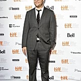 Seth Rogen put his hands in his pocket at the Toronto Film Festival.