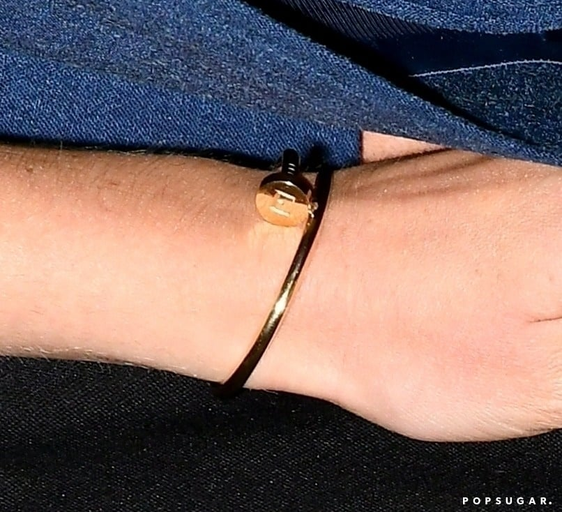 "Princess Beatrice's Cartier Bracelet With ""E"" Engraving"