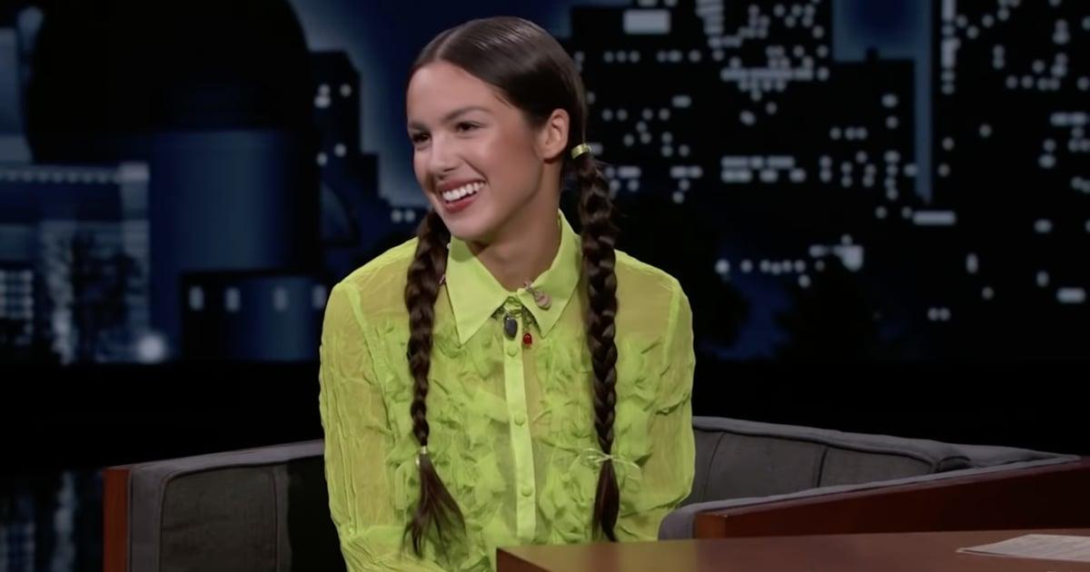 Olivia Rodrigo Wears Wednesday Addams's Signature Hairstyle Days Before Halloween.jpg