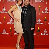 George Calombaris and girlfriend Natalie
