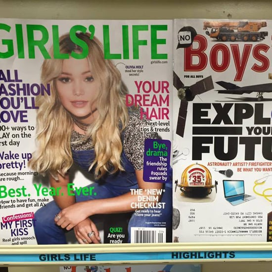 Sexist Girls' Life Boys' Life Magazine Covers
