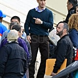 Jude Law Shoots in San Francisco While Sienna Reportedly Spends Time With Tom Sturridge