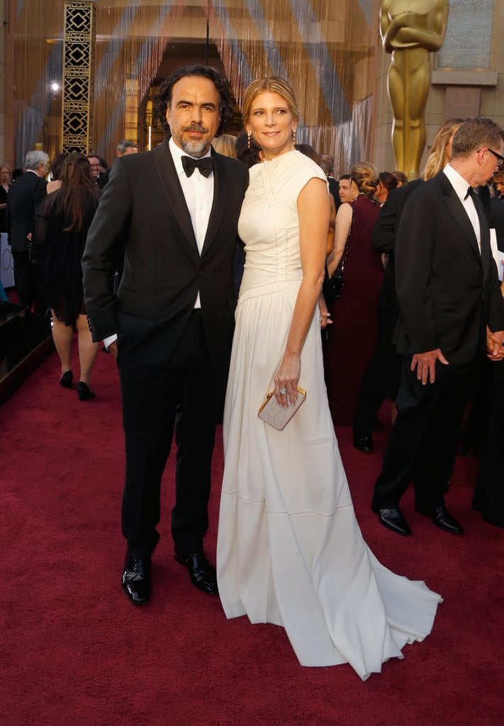 On the Red Carpet With His Wife, María Eladia Hagerman