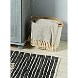 Aldi Fringed Herringbone Throw