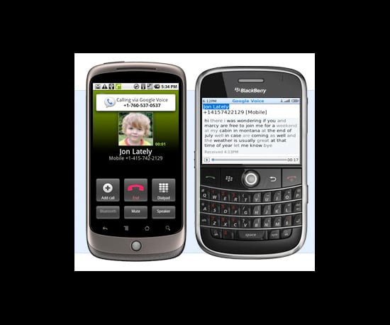 Faster Google Voice For BlackBerry and Android