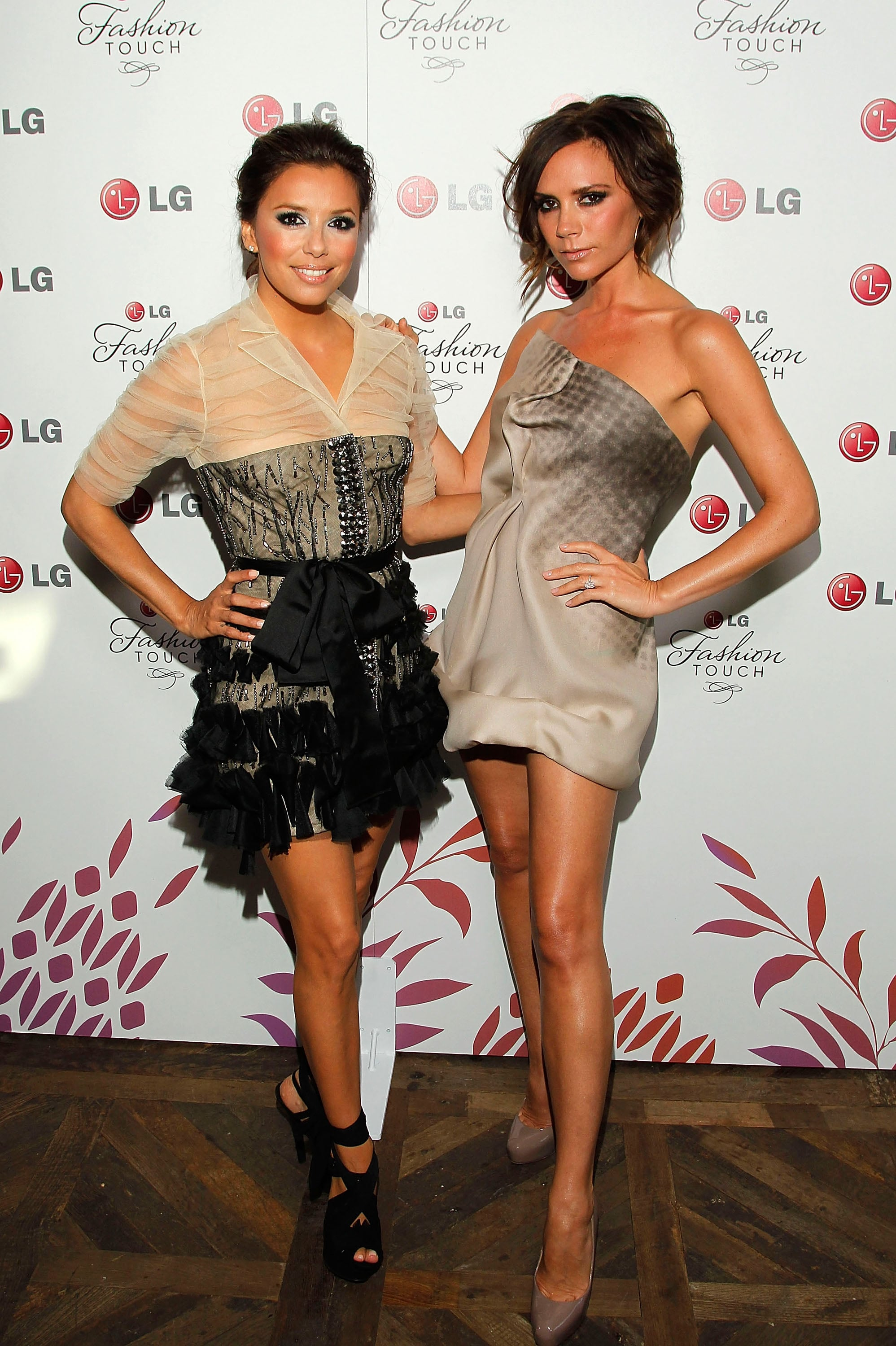 Pictures From Victoria Beckham And Eva Longoria's LG Party ...