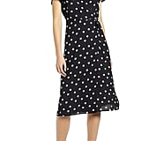 Leith Midi Wrap Dress