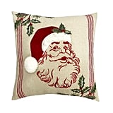 St. Nicholas Square Santa Throw Pillow