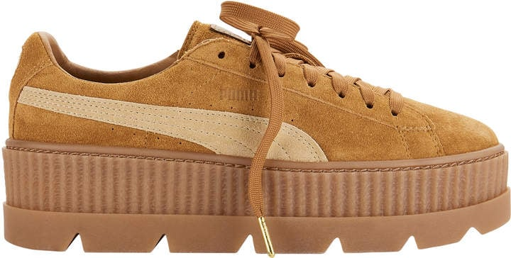 new style 0b7f4 510af Fenty Puma by Rihanna Cleated Suede Creeper Sneakers | Super ...