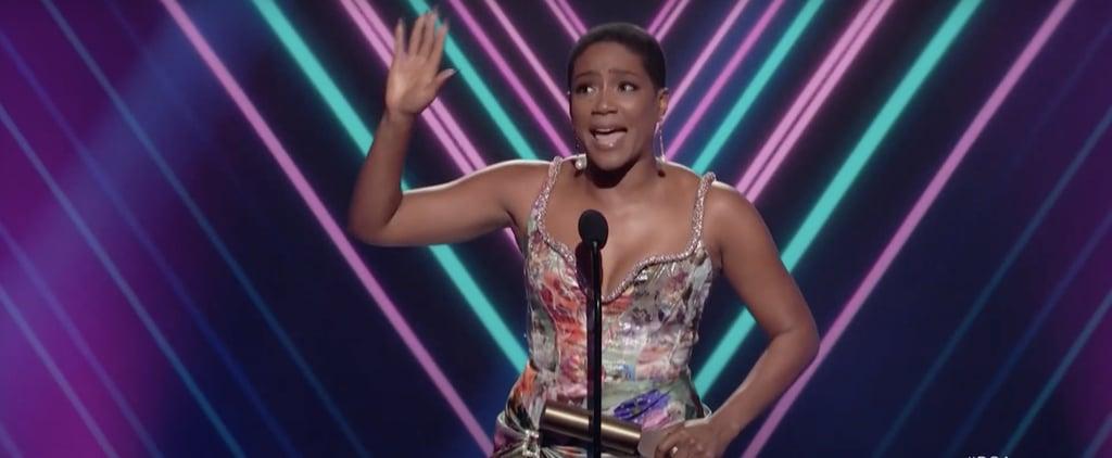 Tiffany Haddish's 2020 People's Choice Awards Speech | Video