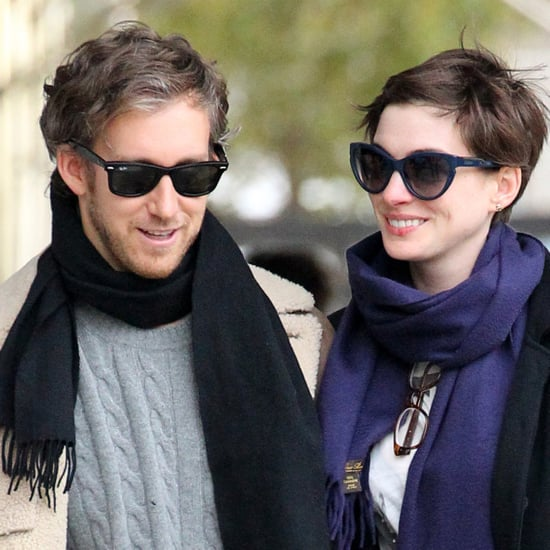 Anne Hathaway and Adam Shulman Holiday Shopping | Pictures