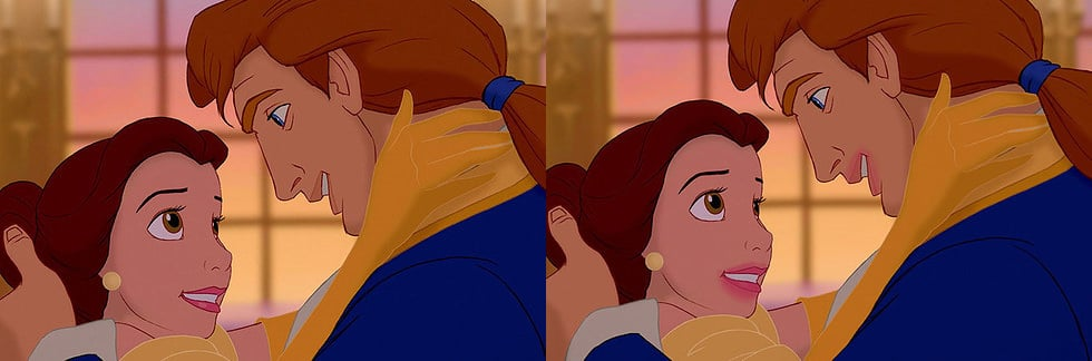 Belle after a hot makeout sesh.