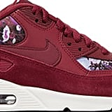 Nike Air Max 90 SE's have long been considered a cult classic. See what all the hype is about by slipping on these Burgundy Floral-Print Sneakers ($120).