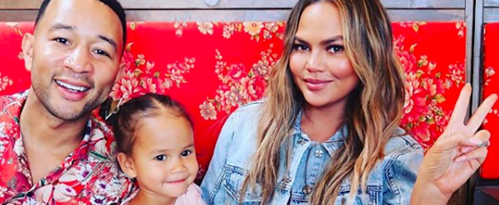 Chrissy Teigen and Luna Legend Manicure