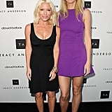 She joined her famously close friend and fitness guru Tracy Anderson to celebrate the opening of their first flagship studio in LA in April 2013.