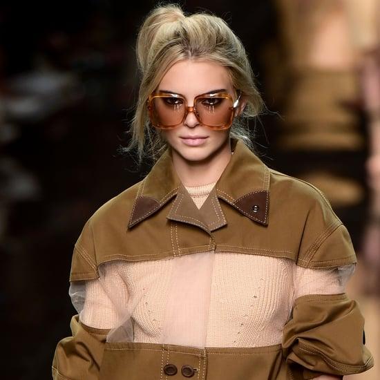 Kendall Jenner at Fashion Week Spring 2020