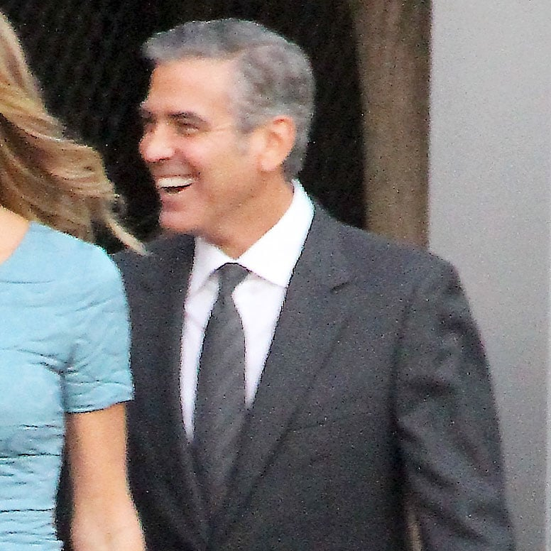 George and Stacy Attend Star-Studded Obama Event