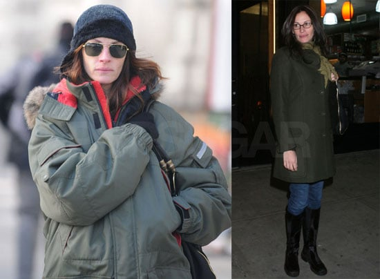 Julia Roberts Goes Heavy on the Layers