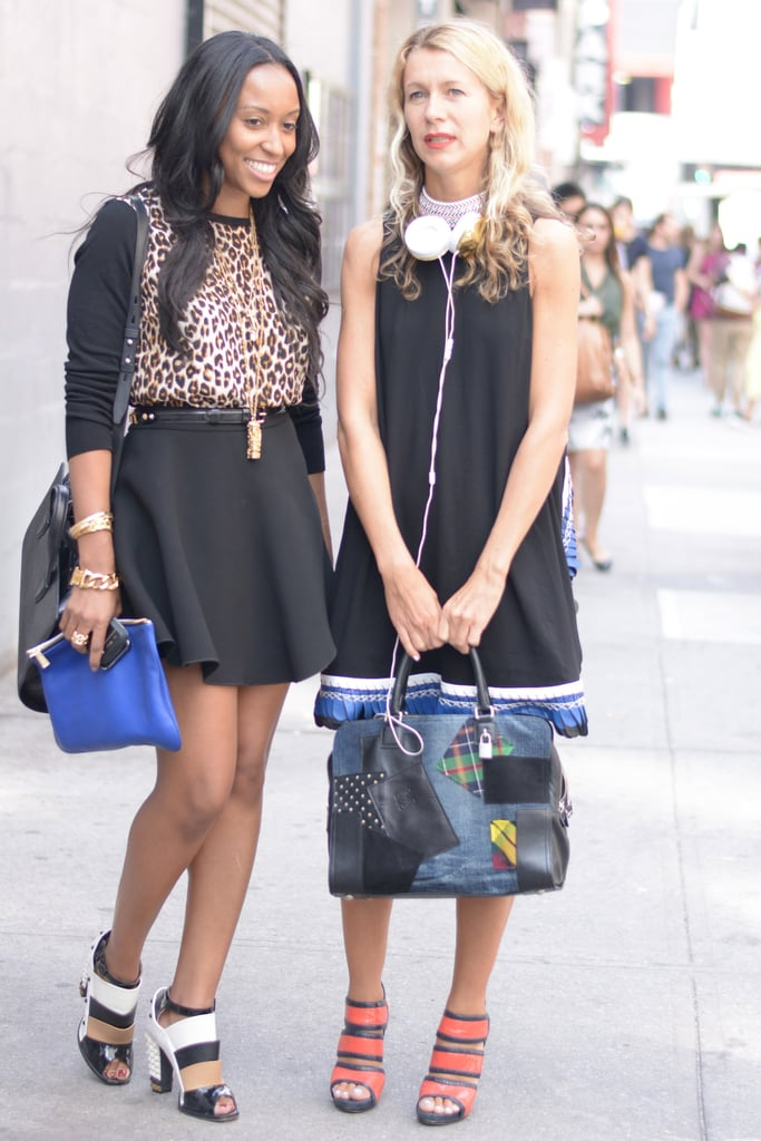 Street style at its best with Shiona Turini and Natalie Joos.