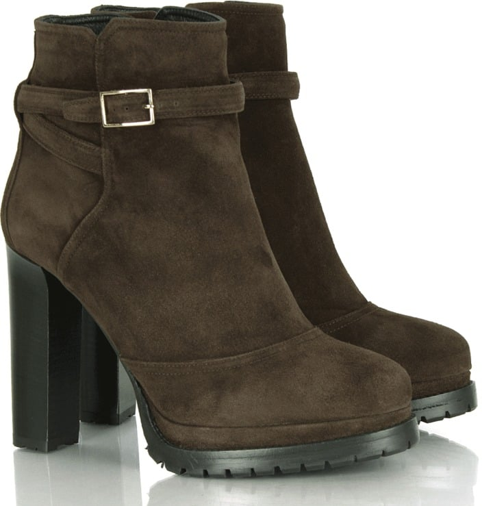 Boss by Hugo Boss Brown Droni-C Women's Suede Ankle Boot