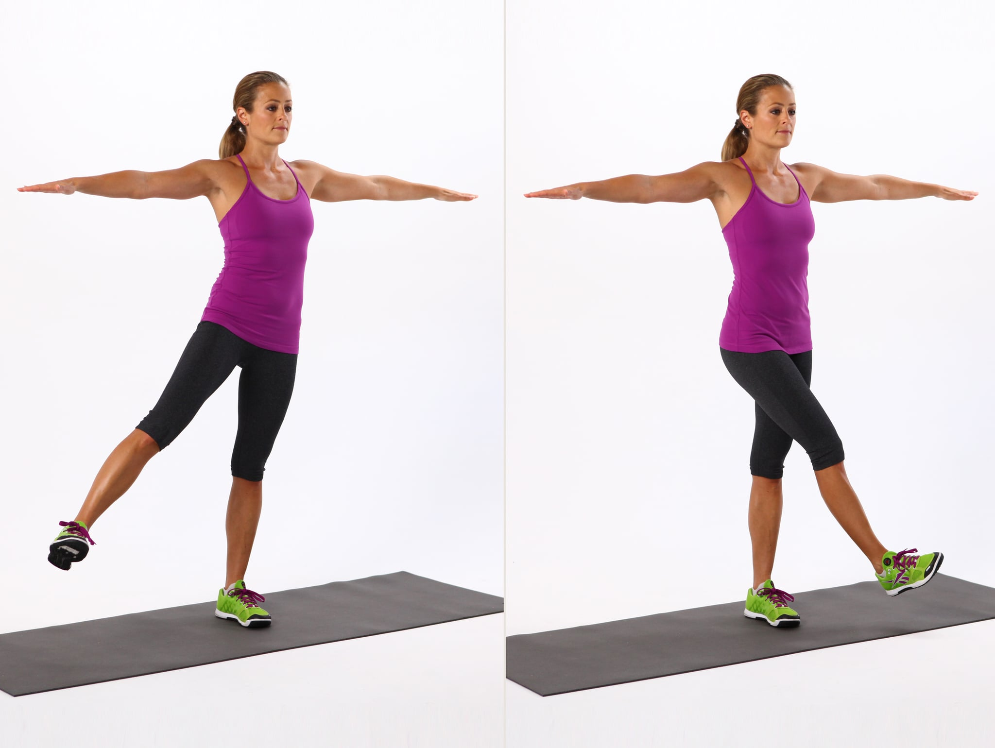 Leg Swings | The 53 Best Leg Exercises Out There | POPSUGAR ...