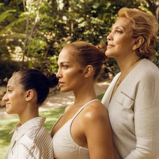 Jennifer Lopez's Generational Photo With Daughter and Mom