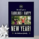 Yacht Club New Year's Photo Cards ($1.63)