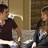 But then Schmidt and Elizabeth (Merritt Wever) share a moment. What's going on here?